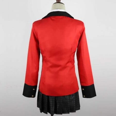 Anime Kakegurui Yumeko Jabami Cosplay Costume Japanese High School Uniform Halloween Party Cosplay Costumes For Women Girls 5