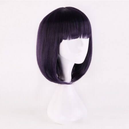 Anime Sailor Moon Cosplay Wigs Sailor Saturn Cosplay Wig Heat Resistant Synthetic Wig Halloween Carnival Party Women Cosplay Wig 2