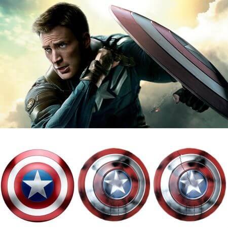 Avengers Endgame Captain America Shield Steve Rogers Cosplay Prop superhero Metal Shield props Halloween Party