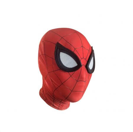 3D Spiderman Homecoming Masks Avengers Infinity War Iron Spider Man Cosplay Costumes Lycra Mask Superhero Lenses 1