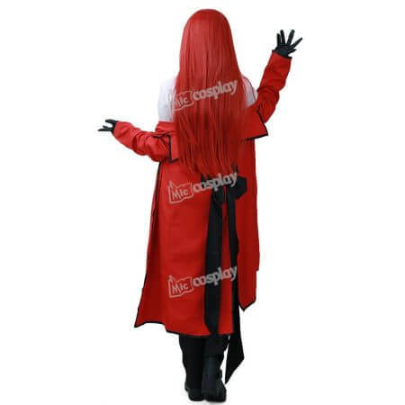 Anime Black Butler Grell Sutcliff Cosplay Costume Men Women Unisex Clothing 2