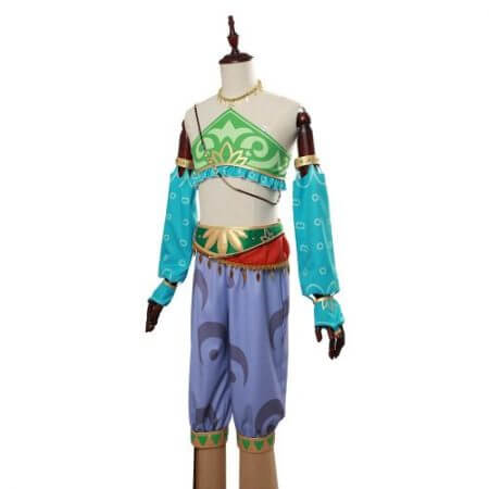 The Legend of Zelda Breath of the Wild Cosplay Costume Female Zelda Link Cosplay Costume Gerudo Halloween Carnival Costumes 4