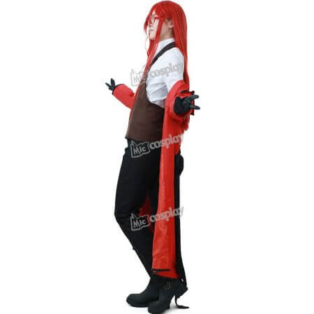 Anime Black Butler Grell Sutcliff Cosplay Costume Men Women Unisex Clothing 1
