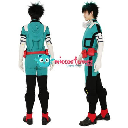 My Hero Academia Midoriya Izuku Deku Cosplay Costume Fighting Suit 2