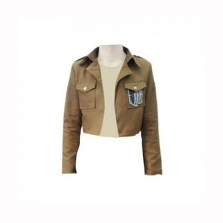 Attack On Titan Cosplay Shingeki No Kyojin Cosplay Jacket Japanese Anime Brown Coat Women Man Adults 1