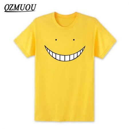 2019 New Anime Assassination Classroom T Shirts Men Korosensei T Shirt Cotton Short Sleeve Men Cartoon Cosplay Tops Tees XS-XXL