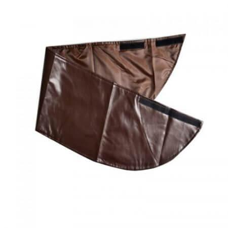 Takerlama Cosplay Attack on Titan Shingeki no Kyojin Leather Skirt Hookshot Belt Costume Chocolate Leather Apron Belt Skirt 2