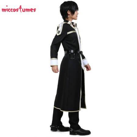 Sword Art Online Alicization Kirigaya Kazuto Kirito Cosplay Costume Uniform Men Halloween Uniform Outfit 3