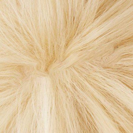Anime My Hero Academia Boku No Hero Bakugou Katsuki Bakugo Short Linen Blonde Heat Resistant Cosplay Costume Wig 6