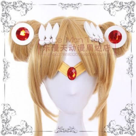 Japan Sailor Moon Tsukino Usagi wig