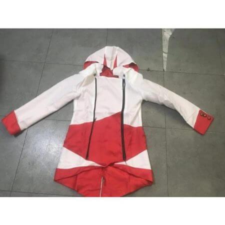 assassins creed cosplay Adult Men Women Streetwear Hooded Jacket Coats Outwear Costume Edward assassins creed Halloween Costume 2