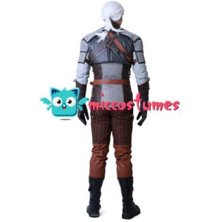 Wild Hunt Geralt of Rivia Cosplay Costume 4