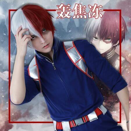 My Hero Academia Shoto Todoroki Cosplay Costume Uniform
