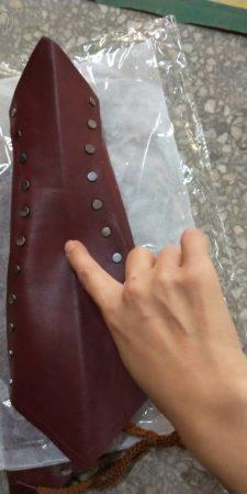 Adult Medieval Battle Warrior Larp Knight Arm Wrist Bandage Leather Armor Bracer Rivet Steampunk Archer Gauntlet Costume For Men 5