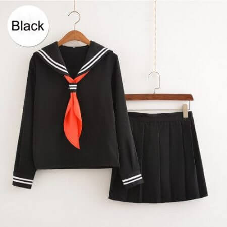 My Hero Academia Cosplay Costume Anime Cosplay Boku no Hero Academia Himiko Toga JK Uniform Women Sailor Suits with Sweaters 3