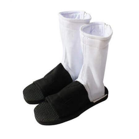 Naruto Cosplay Shoes Akatsuki Nanja Uzumaki Naruto Sakura Sasuke Black Blue Cotton Soft Sandals Ninja Boots Kakashi Shoes 4