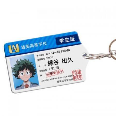Anime My Hero Academia Boku no Hero Asui Tsuyu OCHACO URARAKA Acrylic Cards Holder Keychain Bag's Pendant Cosplay Xmas Gifts 1