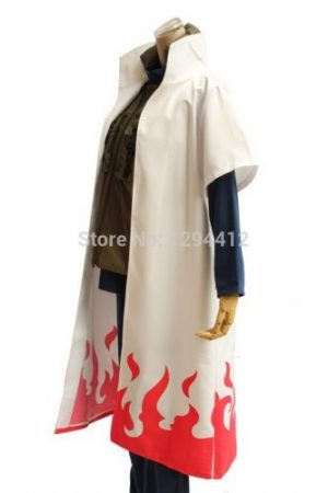 Anime Naruto Yondaime Hokage Namikaze Minato Uniform Cloak cosplay costume kakashi teacher cosplay Naruto Costume Play hot sale 1