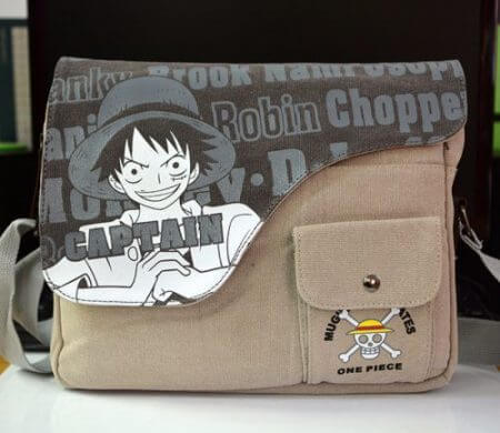 Canvas Bag Anime Sword Art Online Totoro Attack on Titan Naruto ONE PIECE Black Butler GINTAMA Shoulder Messenger Bag School Bag 2