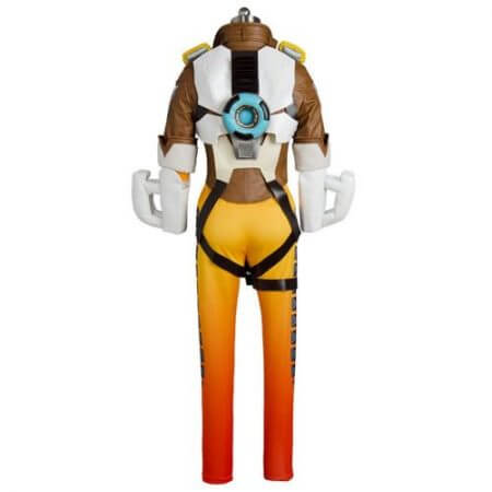 OW Game Hero Tracer Lena Oxton Cosplay Outift Video Game Cosplay Halloween Costumes For Female Girls Full Set Free Shipping 3