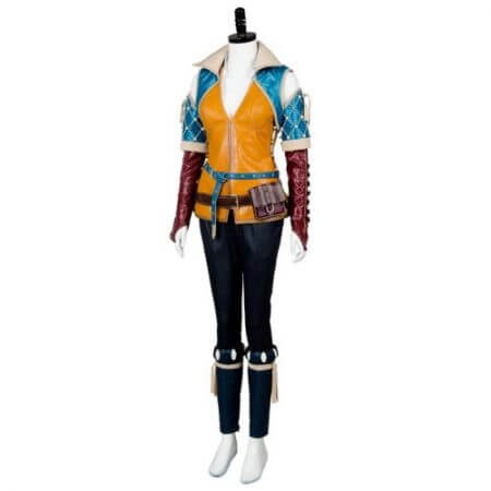 High Quality Triss Merigold Cosplay Costume Adult Women Custom Made 2
