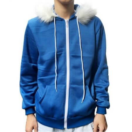 Sans Undertale Cosplay Hoodies Latex Mask FRESH SKELETON jacket sans plus velvet hooded zipper sweater animation game outfit 2