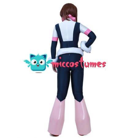 My Hero Academia Ochako Uraraka Cosplay Jumpsuit Costume 4