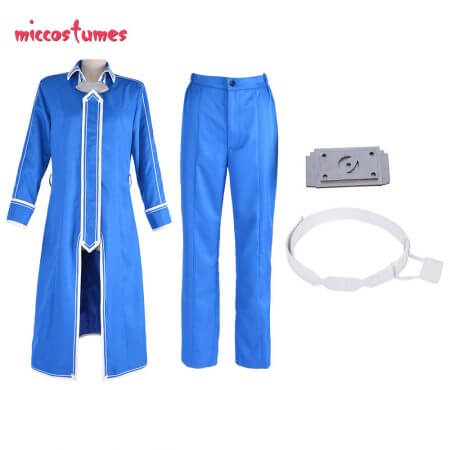 Sword Art Online Alicization Eugeo Cosplay Costume Uniform Men Halloween Outfit 3