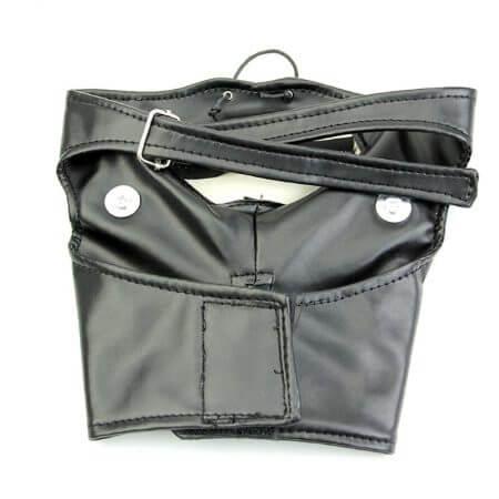 New Tokyo Ghoul Kaneki Ken Adjustable Zipper Faux Leather Mask Cosplay Halloween 2