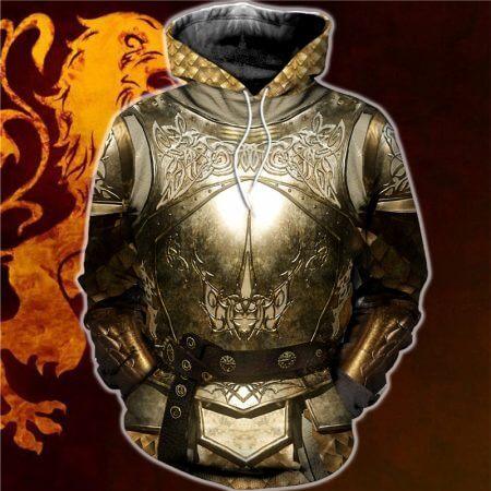 3D All Over Printed Knights Templar Tops Streetwear Hoodie Long Sleeve Pullover Custom Hoodie 2019 Hot Sale Drop Shipping 2