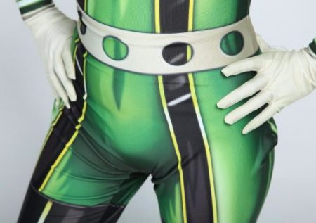 High quality 3D Printed Boku no Hero Academia Froppy Cosplay Costumes Pro Hero Tsuyu Asui Hero Academia Zentai Bodysuit 4