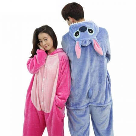 Women Men Kigurumi Unicorn Pajamas cat 5