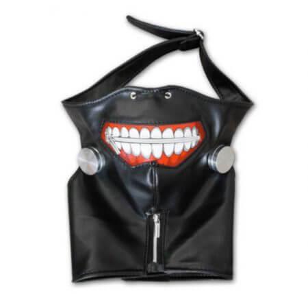 Anime Tokyo Ghoul Kaneki Ken Cosplay Costumes Mask Halloween Party Masks 3