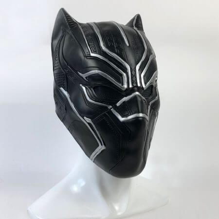 Black Panther Masks Captain America Civil War Roles Cosplay Latex Mask Helmet Halloween Realistic Adult Party Props In Stock 2