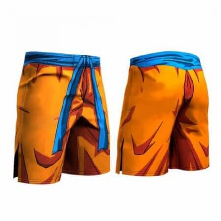 Dragon Ball Z Men Quick dry Trouser Cosplay Son Goku Vegeta Trunks Goku Piccolo Summer Middle Pants High Flexibility Sportwear 1