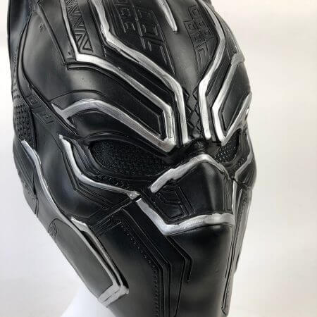 Black Panther Masks Captain America Civil War Roles Cosplay Latex Mask Helmet Halloween Realistic Adult Party Props In Stock 4