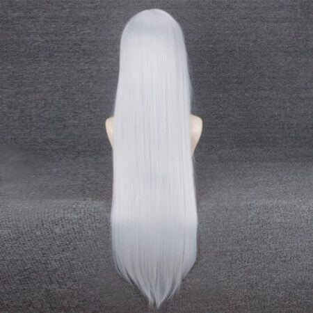NieR Automata YoRHa Type A No.2 A2 Silver / Light Golden Long Wig Cosplay Costume Heat Resistant Synthetic Hair Women Wigs 2
