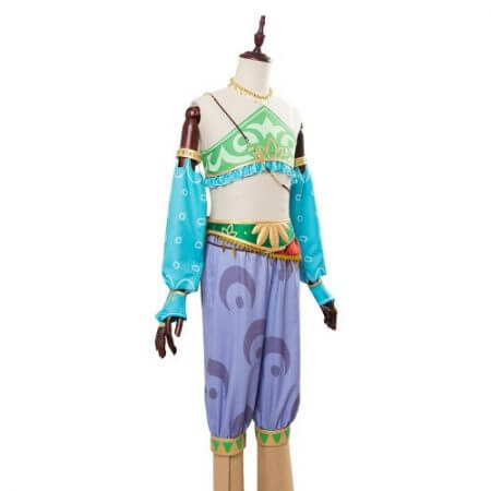 The Legend of Zelda Breath of the Wild Cosplay Costume Female Zelda Link Cosplay Costume Gerudo Halloween Carnival Costumes 2