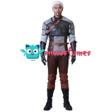 Wild Hunt Geralt of Rivia Cosplay Costume 2