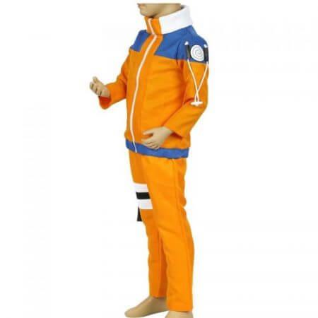 Calssic Anime Cosplay   Naruto children Cosplay Costumes juvenile Uzumaki Naruto kids  European size Free Shipping 4