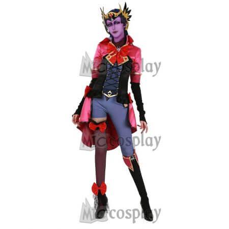 [Miccostumes x Shourca]OW Magical Girl Widowmaker Cosplay Costume with Headdress 1