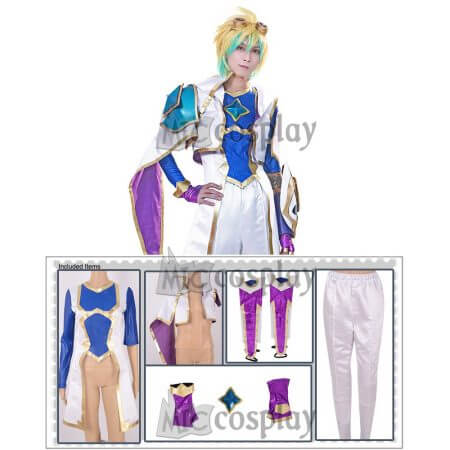 cos New Skin Ezreal Cosplay Costume 1