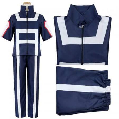 My Hero Academia Boku no Hero Academia Cosplay Gym Sport Costume Suit Uniform