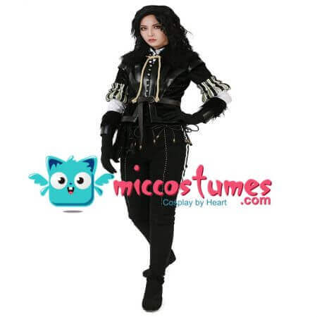 Wild Hunt Yennefer Cosplay Costume