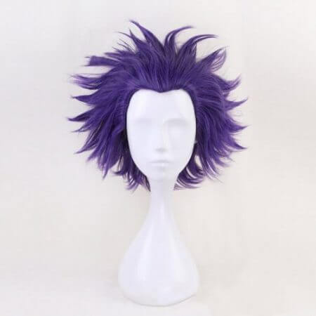 Anime My Hero Academia Hitoshi Shinso Resistant Cosplay Costume Wig 3