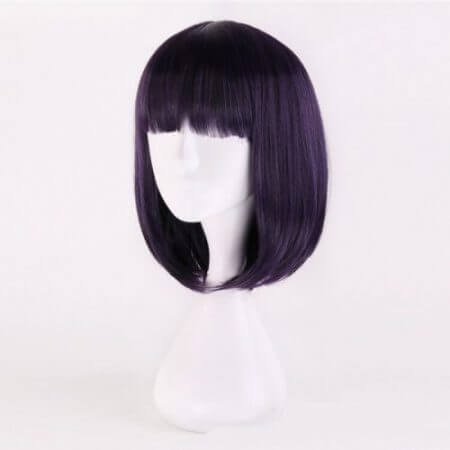 Anime Sailor Moon Cosplay Wigs Sailor Saturn Cosplay Wig Heat Resistant Synthetic Wig Halloween Carnival Party Women Cosplay Wig 3