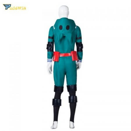 Anime My Hero Academia Cosplay Costume Izuku Midoriya Cosplay Costume Boku No Hero Academia Deku Combats Uniform Halloween Party 2