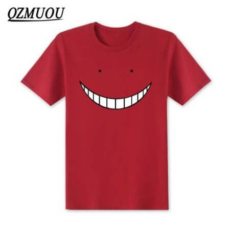 2019 New Anime Assassination Classroom T Shirts Men Korosensei T Shirt Cotton Short Sleeve Men Cartoon Cosplay Tops Tees XS-XXL 5