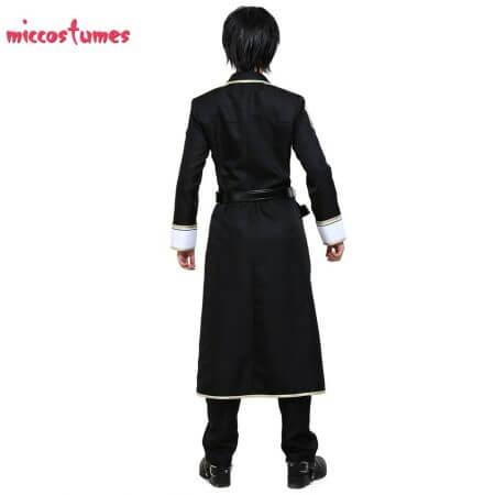 Sword Art Online Alicization Kirigaya Kazuto Kirito Cosplay Costume Uniform Men Halloween Uniform Outfit 4