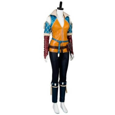 High Quality Triss Merigold Cosplay Costume Adult Women Custom Made 4